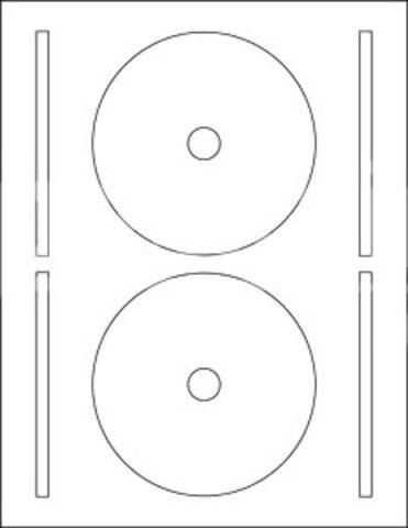 61400-C CD Full-Face Labels