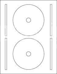 Ace 61400-C CD Full-Face Labels