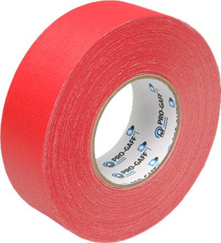 Pro-Tapes Pro-Gaffer 2 Inch Red