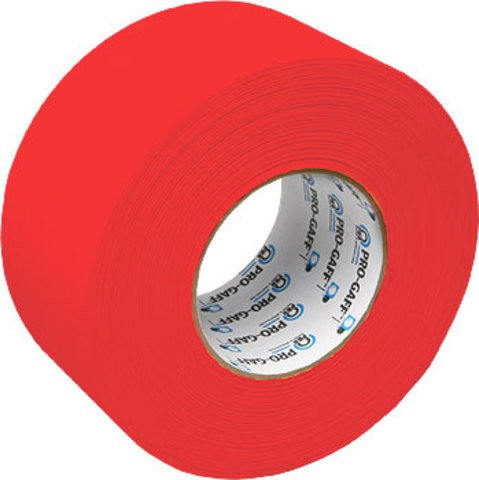 Pro-Tapes Pro-Gaffer 3 Inch Red