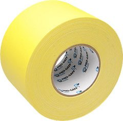 Pro-Tapes Pro-Gaffer 4 Inch Yellow