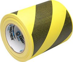 Pro-Tapes Cable Path Tape - Yellow/Black Stripe - 6 Inch