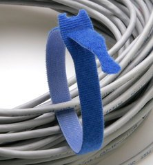 Rip-Tie Lite - Blue 12 Inches - 10 Ties
