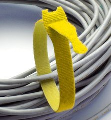 Rip-Tie Lite - Yellow 12 Inches - 10 Ties