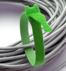 Rip-Tie Lite - Green 12 Inches - 10 Ties