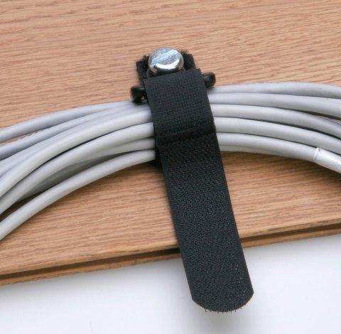 Rip-Tie EconoCinch - Black 7 Inches - 5 Ties