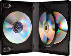 Bethel Plastics Wide 3 Disc DVD Case
