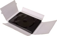 Bethel Plastics Cardboard DVD Case Mailer