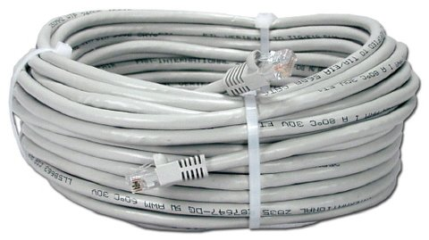 QVS 50FT Snagless Patch Cord CAT5e Ethernet
