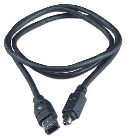 QVS 6FT FireWire 400 6-pin to 4-pin Cable