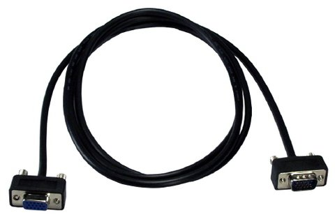 QVS 3FT UltraThin Male-to-Female VGA Cable