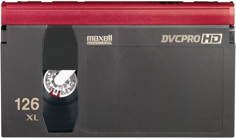 Maxell DVCPRO Extra Large Cassette DVPHD-126EXL