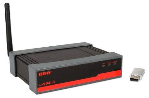 QVS airVGA II Wireless VGA Adapter