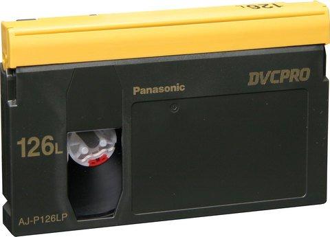Panasonic DVCPRO Large Cassette AJ-P126L