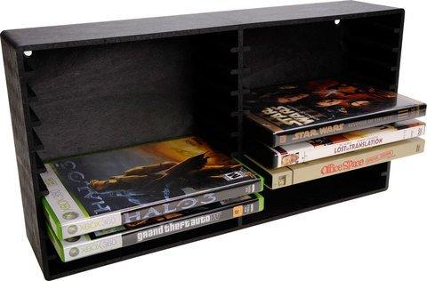 DVD Video Game Storage Rack