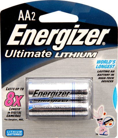 Energizer Ultimate Lithium AA 2-Pack
