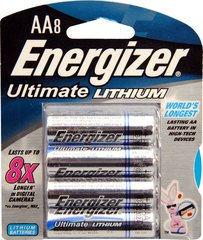 Ultimate Lithium AA 8-Pack