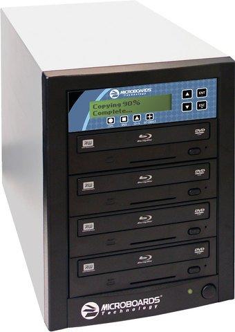 Microboards CopyWriter Pro Blu-ray Duplicator 4 Recorders