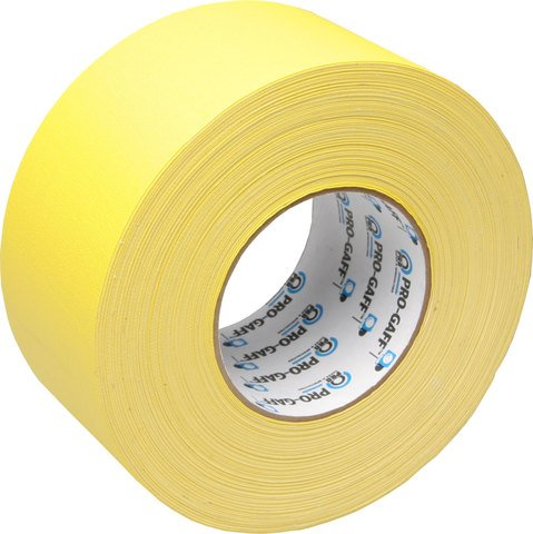 Pro-Tapes Pro-Gaffer 3 Inch Yellow