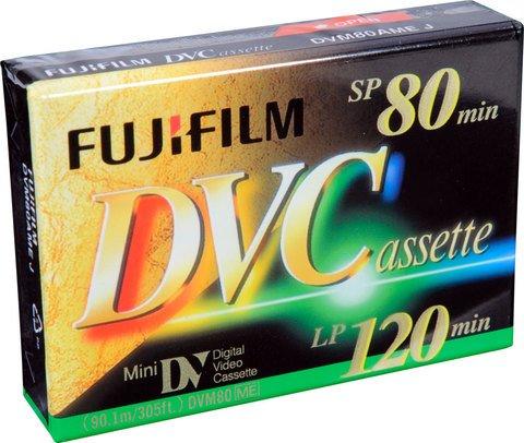 Fujifilm Mini DV 80 Minute DVCassette