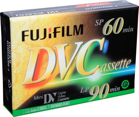 Fujifilm Mini DV 60 Minute DVCassette