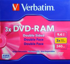 Verbatim DVD-RAM 9.4 3X
