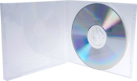 Bethel Plastics Clear Polybox Disc Case with Overlay