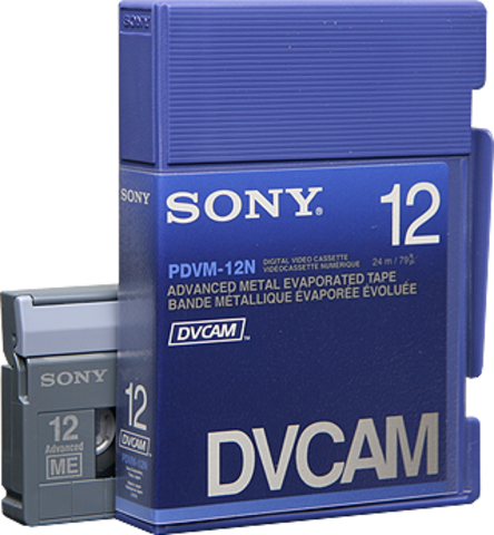 Sony DVCAM PDVM-12N/3 12 Minutes