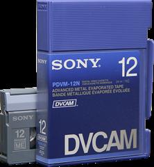 DVCAM PDVM-12N/3 12 Minutes