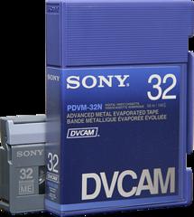 DVCAM PDVM-32N/3 32 Minutes