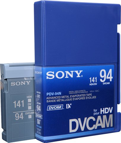 DVCAM PDV-94N/3 94 Minutes