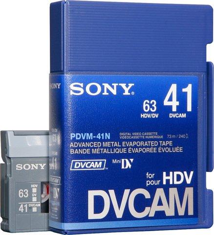 Sony DVCAM PDVM-41N/3 41 Minutes