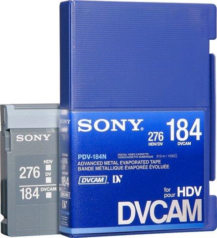 DVCAM PDV-184N/3 184 Minutes