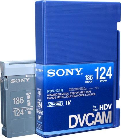 Sony DVCAM PDV-124N/3 124 Minutes