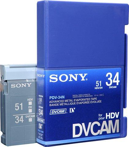 Sony DVCAM PDV-34N/3 34 Minutes