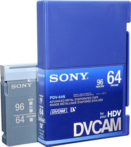 Sony DVCAM PDV-64N/3 64 Minutes