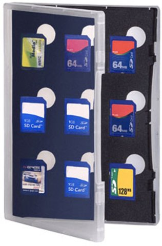 Gepe Card Safe Store SD Transparent