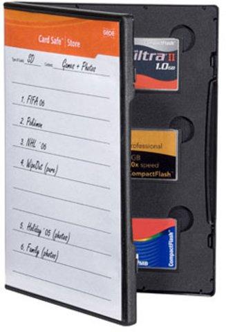 Gepe Card Safe Store CF Black