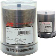 8x DVD-R Shiny Silver Thermal Printable - 100 Discs