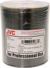 JVC 8x DVD-R White Thermal Printable - 100 Discs
