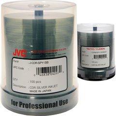 52x CD-R Silver Inkjet Printable - 100 Discs