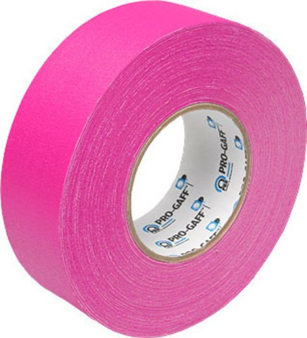 Pro-Tapes Pro-Gaffer 2 Inch Fluorescent Pink