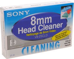 Sony 8mm Video 8 Hi8 Cleaning Cassette