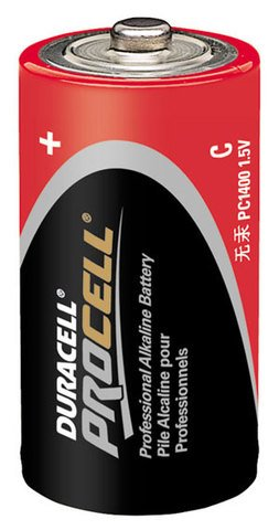 Duracell CopperTop C Size 12-Pack