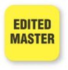 United Ad Label Fluorescent Yellow Edited Master Tape Label
