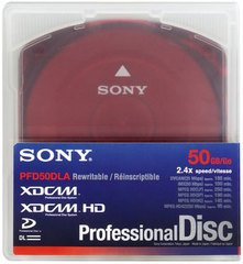 Sony XDCAM 50GB Dual Layer Disc - PFD50DLA
