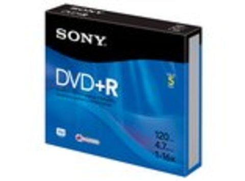 Sony DVD+R Logo Branded 5 Discs