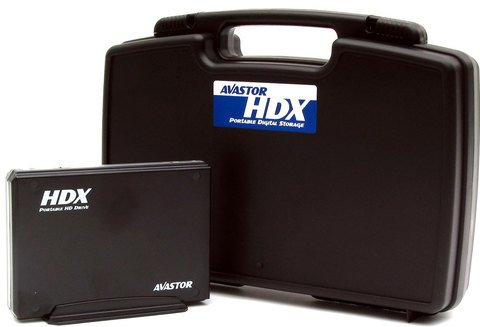 Avastor HDX-800 500GB Triple Portable Hard Disk Drive