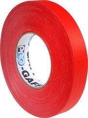 Pro-Tapes Pro-Gaffer 1 Inch Red