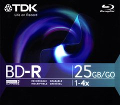 4x BD-R Logo Branded - 1 Disc